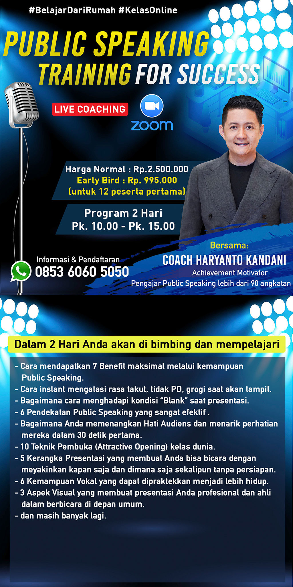 PUBLIC SPEAKING TRAINING FOR SUCCESS